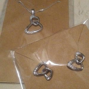 2 piece Necklace and Earring set